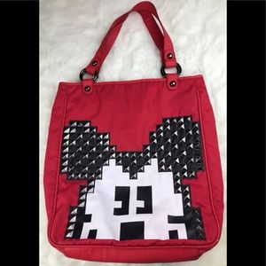 Disney Couture Mickey Mouse Studded Handbag Tote